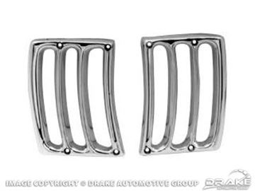 Picture of Headlamp Assembly Gill Trim (Chrome) : ACC-610-C