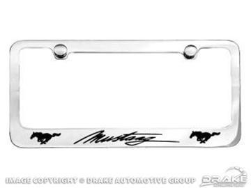 Picture of Running horse license frame : ACC-9233270