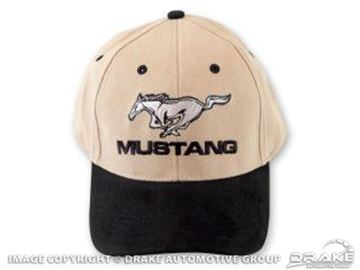 Picture of Mustang Hat (Black & Tan) : HAT-M-BLK