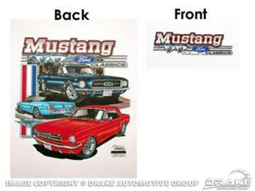 Picture of Mustang Classic Ford T-Shrit (Small) : TS-3S