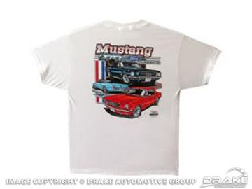 Picture of Mustang Classic Ford T-Shrit (XL) : TS-3XL