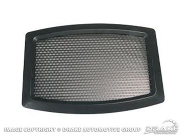 Picture of 65-68 Rear Speaker Grill (6x9) : C5ZZ-18798-A