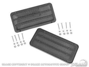 Picture of 65-66 Door Speaker Grills (Pair) : C6ZZ-18798-A