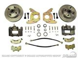 Picture of Disc Brake Conversion Kit (6 cylinder, original 4 lug, single piston calipers, will not fit original 14'x5'rims) : DBC-6466-6