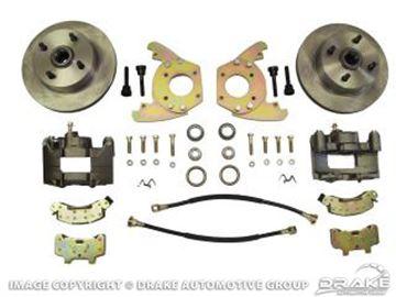 Picture of Disc Brake Conversion Kit (6 cylinder, original 4 lug, single piston calipers, will not fit original 14'x5'rims) : DBC-6466-6