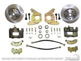 Picture of Disc Brake Conversion Kit (6 cylinder, 5 lug, single piston calipers, will not fit original 14'x5' standard steel rims) : DBC-6466-6-5LUG