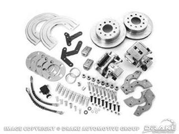 Picture of Rear Disc Brake Conversion Kit (Standard duty, 31 spline rear axle) : DBC-A110-1