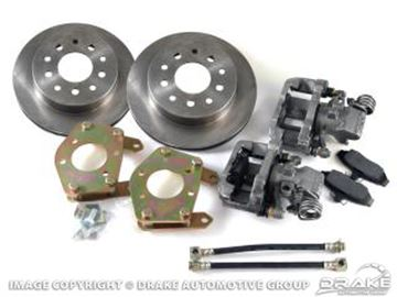 Picture of Rear Disc Brake Conversion Kit (Standard rotors, 28 spline) : DBC-REAR