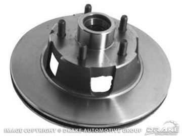 Picture of 70-73 Disc Brake Rotor : D0OZ-1102-BR
