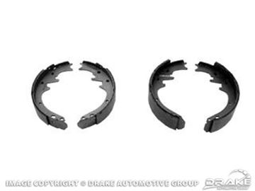 Picture of Front Brake Shoes (351,290,427,428,429) : C6OZ-2001-AR