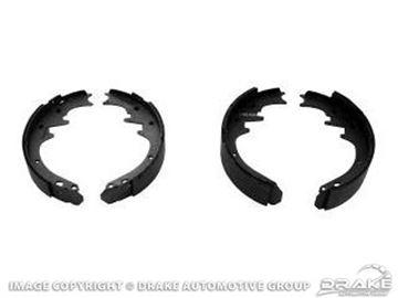 Picture of Rear Brake Shoe (250, 260, 289, 302) : C7ZZ-2200-AR
