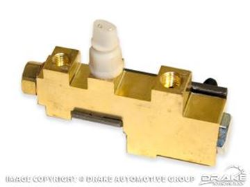 Picture of 1970 Mustang Brake Distribution Block : D0ZZ-2B257-A
