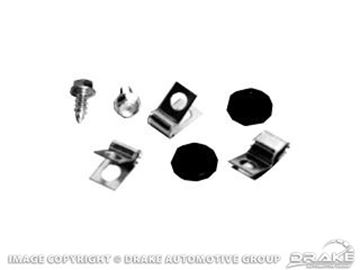 Picture of Front Brake Line Clip/Grommet Kit : 379604-AK