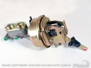 Picture of 64-66 Mustang Power Brake Conversion (Disc, Manual) : PBC-M1