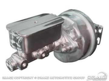 Picture of 64-66 Mustang Power Brake Conversion (Manual, with Billet MC) : PBC-M4