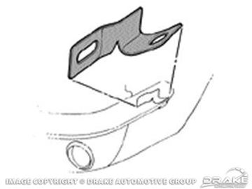 Picture of 64-66 Fender to Front Bumper Bracket (LH) : C5ZZ-17A870-A
