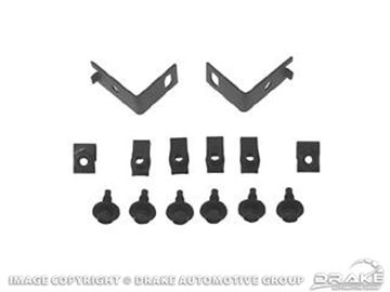 Picture of Bumper Guard Hardware Kit : C5ZZ-17794-KIT