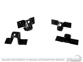 Picture of 64-66 Rear Bumper Braces : C5ZZ-17A750-AR