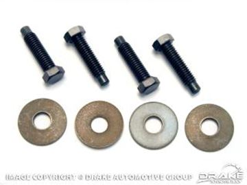 Picture of 1964-68 Rear Bumper Brace Mounting Hardware : 372434-RBK