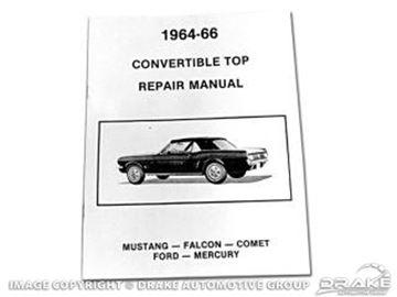 Picture of Convertible Top Repair Manual : MP-14