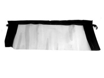 Picture of Glass Convertible Top Rear Window (Black) : C5ZZ-7652500-GB