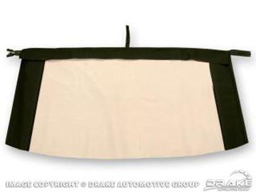 Picture of Plastic Convertible Top Rear Window (Black) : C7ZZ-7652500-PB