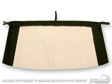 Picture of Plastic Convertible Top Rear Window (White) : C7ZZ-7652500-PW