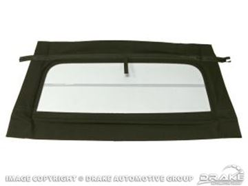 Picture of 69-70 Convertible Glass Window (White) : C9ZZ-7652500-GW