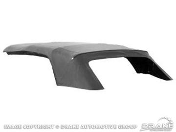 Picture of 64-66 Convertible Top (With Plastic Curtain, Black) : C5ZZ-7652700-PB