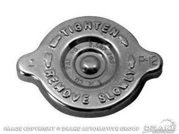 Picture of 64-66 Concours Radiator Cap (Chrome) : C5ZZ-8100-AC
