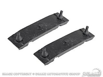 Picture of 67-70 Radiator Mounting Insulators (Upper) : C7OZ-8124-A