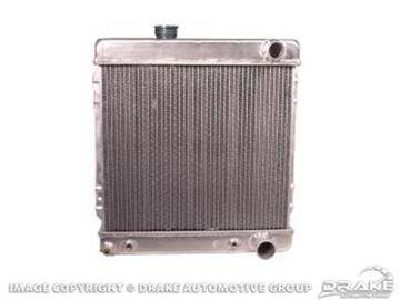 Picture of 2 Core Hi-Po Aluminum Radiator (260, 289) : 259-2AL