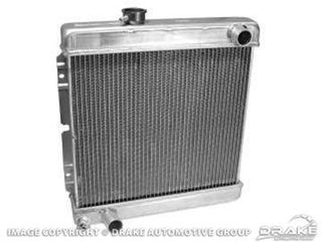 Picture of 2-Row Aluminum Radiator (5.0) : 259-2AL-LM