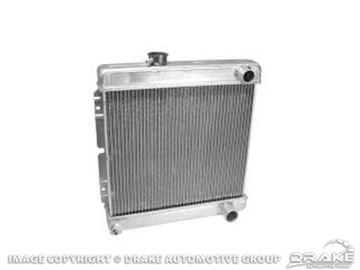 Picture of 2-Row Aluminum Radiator (for Manual Trans) : 259-2AL-MT