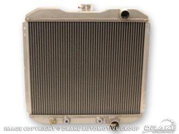 Picture of 1967-69 Small Block 2 Row Aluminum Radiator : 340-2AL