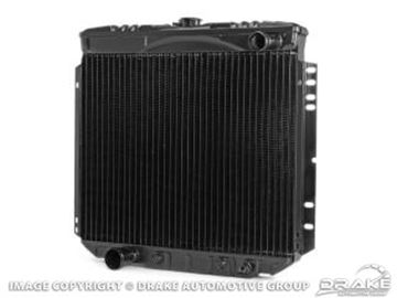 Picture of 1970 Mustang 3-Row Radiator (302, 351, without A/C) : 340-3C