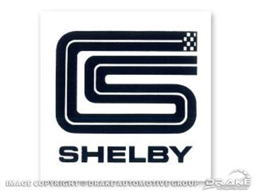 Picture of 3' CS Shelby Square Decal : DF-501