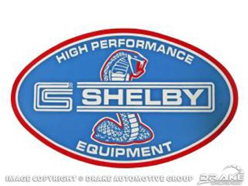 Picture of 10' Shelby Hi-Performance Equipment Decal : DZ-110