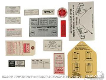 Picture of 15 Piece Decal Kit : DK-24