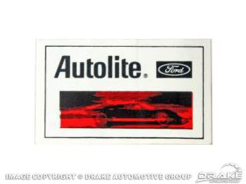 Picture of 1/2'x2 1/2' Autolite Decal : DZ-120