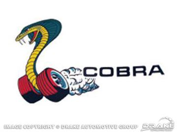 Picture of Cobra Window Decal : DF-822
