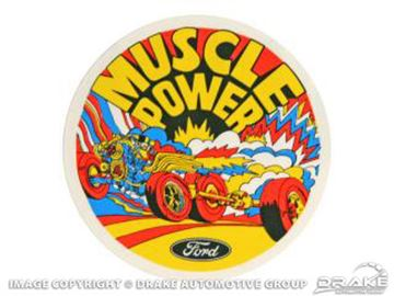 Picture of Muscle Power Exterior Decal : DZ-114