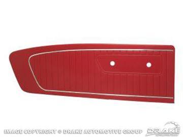 Picture of 1965 Standard Door Panels (Red) : C5ZZ-65239423RD