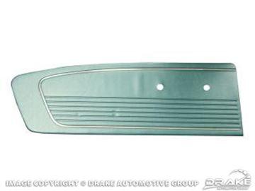 Picture of 1966 Standard Door Panels (Aqua) : C6ZZ-65239423AQ