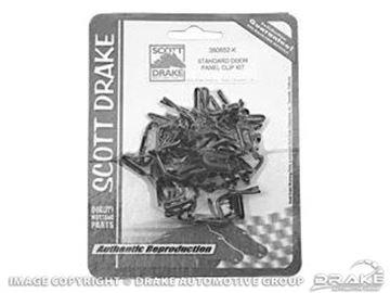 Picture of Door Panel Clip Kit : 380552-K