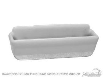 Picture of 64-66 Pony Door Panel Cups (White) : C5ZZ-6524142-WT