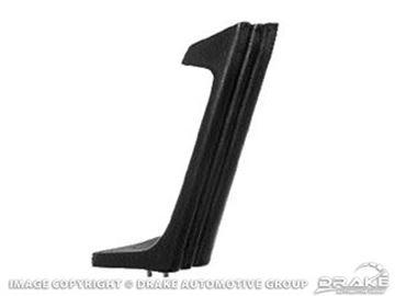 Picture of 71-73 Deluxe Door Pull (Black, LH) : D1ZZ-6526655-BK