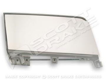 Picture of 67-8 CV lh door glass assy : C7ZZ-7621410-KL