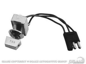 Picture of 65-66 Fog Lamp Switch : C6ZZ-15A214-A