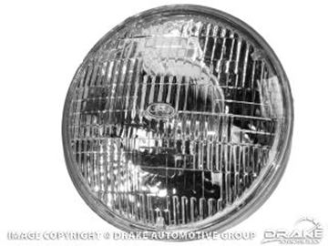 Picture of 7' Round Halogen Sealed Beam Headlamp (With FOMOCO Script) : C0DZ-13007-A